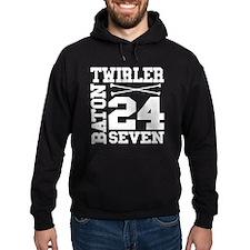 Baton Twirler 24/7 Hoodie