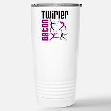Baton Twirler Stainless Steel Travel Mug