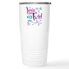 Love 2 Twirl Travel Coffee Mug