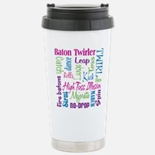 Baton Twirler Stainless Steel Travel Mug