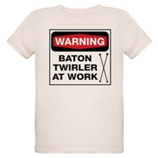 WARNING Baton Twirler T-Shirt