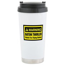 WARNING Baton Twirler Travel Mug