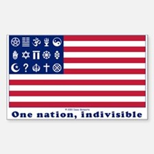 URA Flag #1 Decal