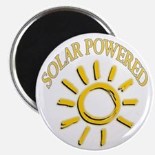 Cute Solar power Magnet
