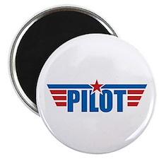 "Pilot Aviation Wings 2.25"" Magnet (100 pack)"