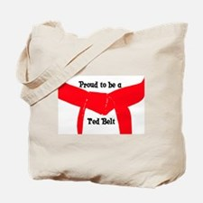 Proud to be a Red Belt Tote Bag