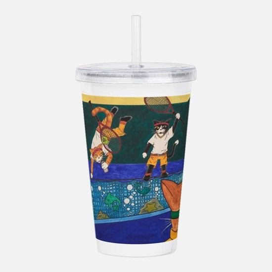 Tennis 2 V 1 Acrylic Double-wall Tumbler