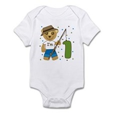 I'm 1 Fishing Buddy Infant Bodysuit