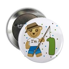 "I'm 1 Fishing Buddy 2.25"" Button"