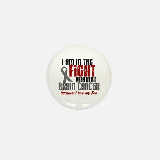 In The Fight SON Brain Cancer Mini Button