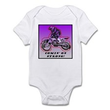 """Comin' On Strong"" Infant Bodysuit"