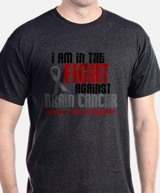 In The Fight DAUGHTER Brain Cancer T-Shirt
