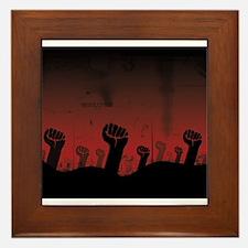 Funny Lenin Framed Tile