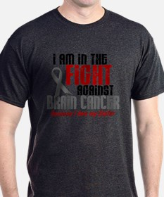In The Fight SISTER Brain Cancer T-Shirt