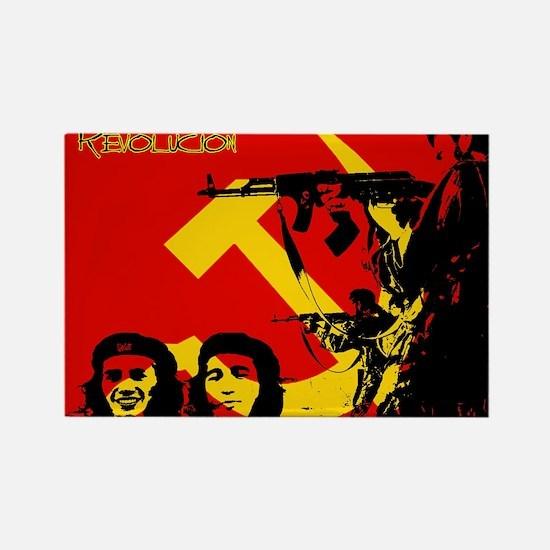 Cool Lenin Rectangle Magnet