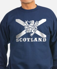 Flag of Scotland with Lion Sweatshirt