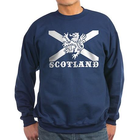 Flag of Scotland with Lion Sweatshirt (dark)