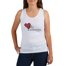 Love My Lineman Tank Top