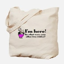 Three Wishes Tote Bag