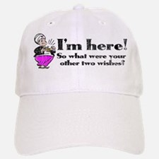 Three Wishes Baseball Baseball Cap