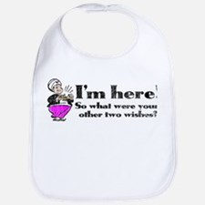 Three Wishes Bib