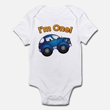 I'm One Blue Car Onesie