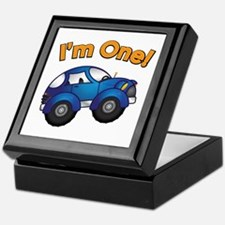 I'm One Blue Car Keepsake Box