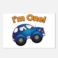 I'm One Blue Car Postcards (Package of 8)