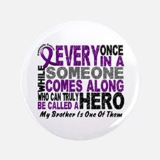 "HERO Comes Along 1 Brother PC 3.5"" Button"