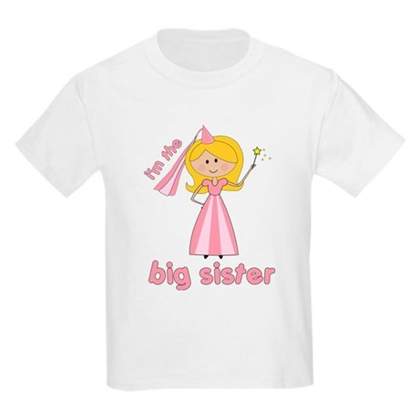 big sister t-shirts princesses Kids Light T-Shirt