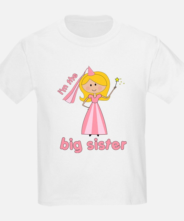 big sister t-shirts princesses T-Shirt