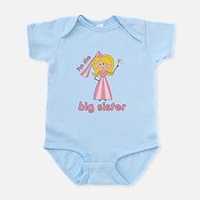 big sister t-shirts princesses Infant Bodysuit