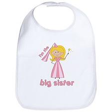 big sister t-shirts princesses Bib