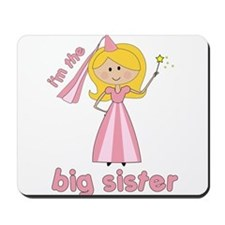 big sister t-shirts princesses Mousepad