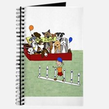 Cute Sheltie agility Journal