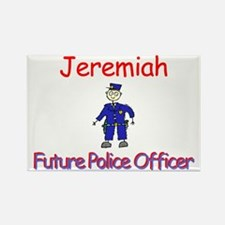 Jeremiah - Future Police Rectangle Magnet
