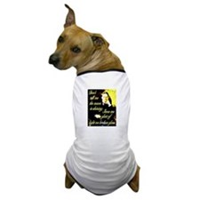 Chekhov Quote Dog T-Shirt