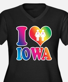 Gay Marriage: I Love Iowa - Lesbian Women's Plus S