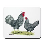 Dominique Chickens Mousepad
