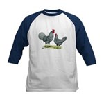 Dominique Chickens Kids Baseball Jersey