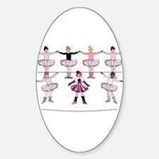 Center Stage Oval Decal