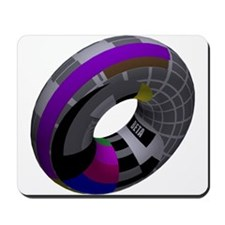 3d Beta Test Pattern Tube Mousepad