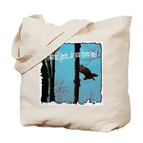 Kindred Spirit Poetry Tote Bag