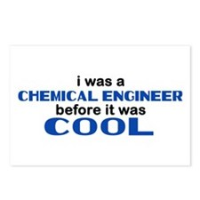 Chemical Engineer Before Cool Postcards (Package o