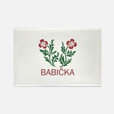 Babicka Rectangle Magnet