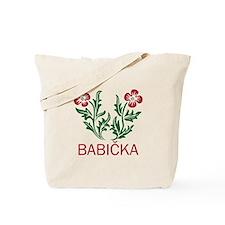 Babicka Tote Bag