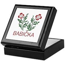 Babicka Keepsake Box