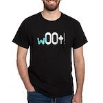 w00t! (woot) Gamer Black T-Shirt