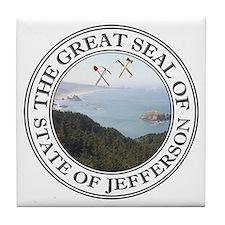 Unique Jefferson Tile Coaster