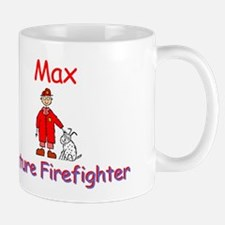 Max - Future Firefighter Mug